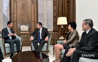 Французские депутаты встретились с Асадом
