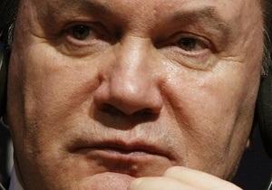 Янукович призывал украинцев почтить память жертв политических репрессий
