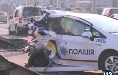 Двойное ДТП в Киеве: шестеро пострадавших