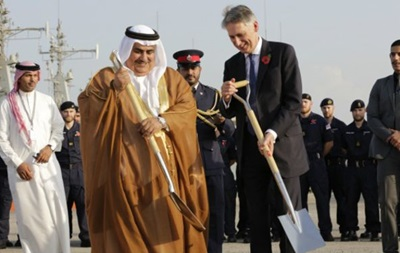 В Бахрейне начали строить британскую военную базу