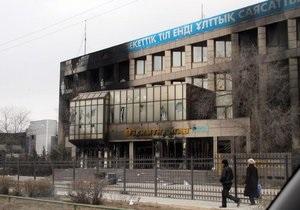 Беспорядки в Казахстане: здание городской администрации в Жанаозене разграблено