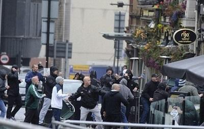 На фанов Манчестер Сити напали с ножами и дубинками в Севилье