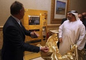 В Абу-Даби установили автомат по продаже золота