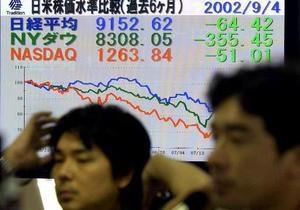 Акции Китая подешевели, японские - в плюсе