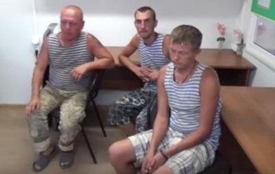 Задержанных в Крыму солдат вернули на материковую Украину