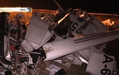 Появилось видео с места крушения самолета в Крыму