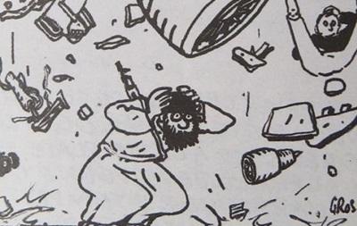 Charlie Hebdo напечатал карикатуры на падение А321