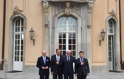 Главы МИД нормандской четверки собрались в Берлине