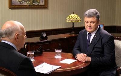 Порошенко: Украина вернет контроль над Крымом