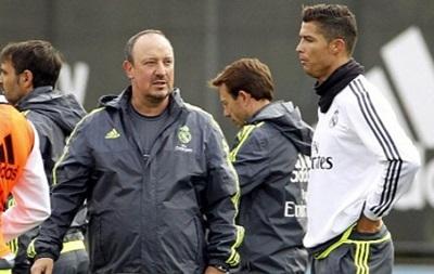 Бенитес: Я вижу Роналду каждый день на тренировках счастливым