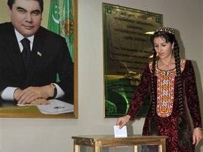 Явка на парламентских выборах в Туркменистане составила 93,87%