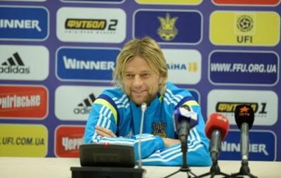Тимощук: В матчах со Словенией нужно выложиться на 110 процентов