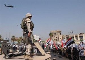 В Ираке погибли пятеро американских военнослужащих