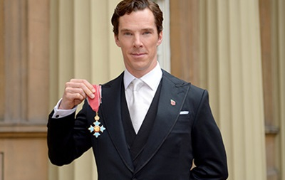 Актер Камбербэтч стал командором Британской империи