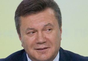 Лужков подарил Януковичу братину