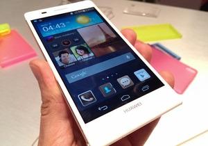 Huawei представила самый тонкий смартфон в мире