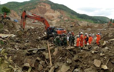 Оползень в Китае унес жизни более 20 человек