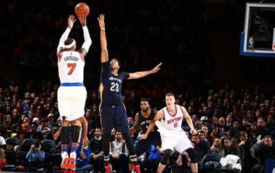 NBA: Победы Нью-Йорка, Шарлотт и Лейкерс, поражения Миннесоты и Атланты