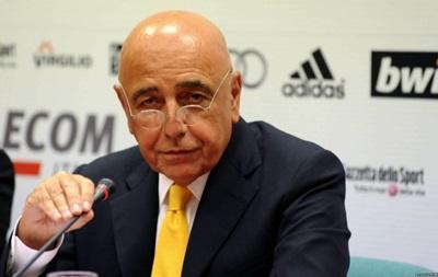 Милан не будет менять наставника - Галлиани
