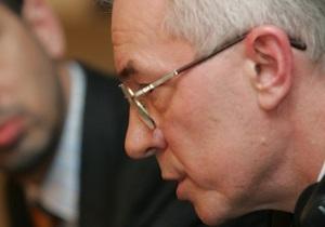Азаров вновь заговорил о проблеме получения украинцами теневых зарплат