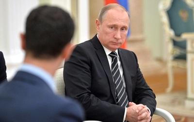 Асад назвал Путина защитником христианской цивилизации