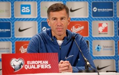 Тренер сборной Словении: Поздравляю сборную Украины с выходом на Евро