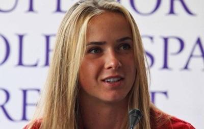 Свитолина: Хочу выиграть для Украины медаль на Олимпиаде в Рио