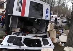 новости Феодосии - В Феодосии столкнулись машина скорой помощи и Volkswagen, есть жертвы