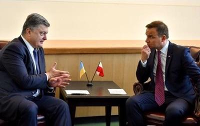 Польский президент впервые посетит Украину