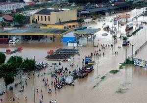 В результате наводнений Бразилии погибло 38 человек, более тысячи - пропали без вести