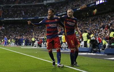 Барселона установила новый рекорд в матчах с Реалом