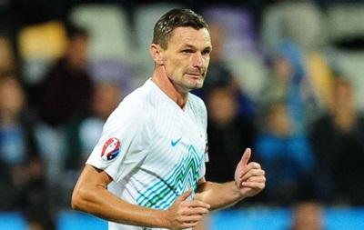 Нападающий сборной Словении: Украине на Евро-2016 ничего не светит