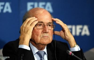 Блаттер: Из-за ситуации в ФИФА чуть не умер. Уже видел поющих ангелов и дьявола