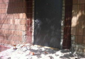 новости Харькова - арт-центр - вандализм - нападение - В Харькове неизвестные напали на арт-центр Workshop