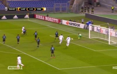 Лацио - Днепр 3:1 Видео голов и обзор матча Лиги Европы