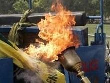 Олимпийский огонь прибыл в Индию