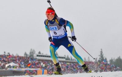 Украинец Александр Жирный финишировал вторым в спринте Кубка IBU