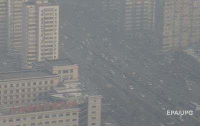 Пекин утопает в густом смоге