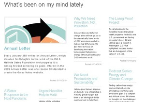 Билл Гейтс завел блог