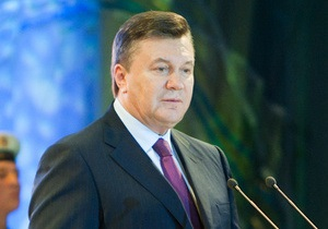 Янукович хочет парафировать Соглашение с ЕС до конца года
