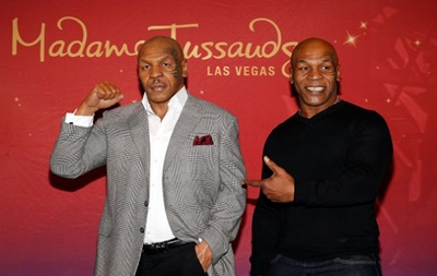 Легендарный Тайсон встретился со своим двойником