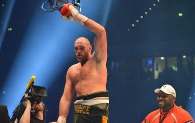 Фьюри дал согласие на немедленный реванш с Кличко