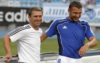 Ребров рассказал секрет успеха его связки с Шевченко