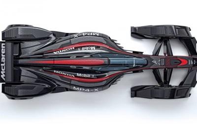Бэтмобиль для Формулы-1: McLaren показал гоночное авто будущего