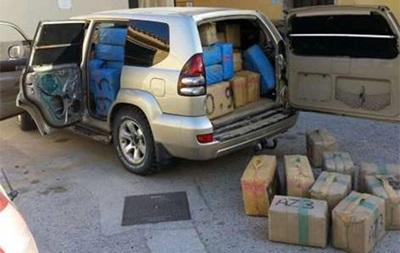 На пляже в Испании нашли автомобиль с двумя тоннами гашиша