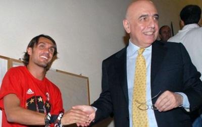 Мальдини: Галлиани недостаточно разбирается в футболе