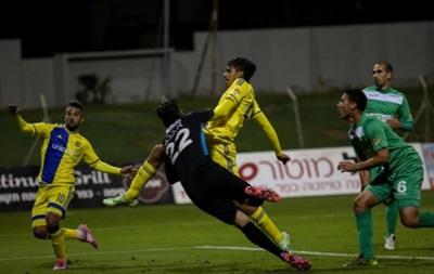 Маккаби перед встречей с Динамо сыграл вничью в чемпионате Израиля