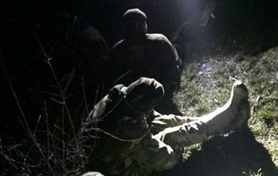 На Закарпатье со стрельбой задержали контрабандистов