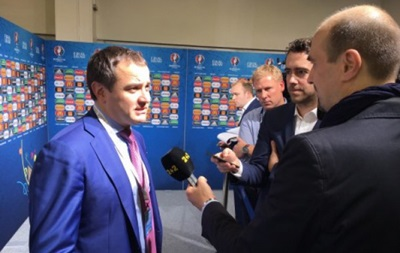 Павелко: Евро-2016 - шанс для наших игроков вписать свои имена в историю