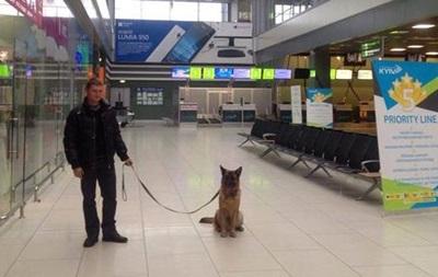 В аэропорту Жуляны искали бомбу